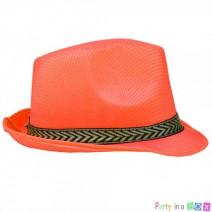 כובע ג'נטלמן כתום זוהר