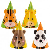 כובעי מסיבה חיות מסיבה