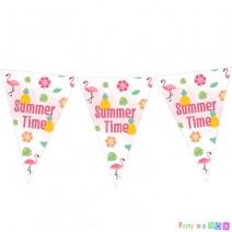 שרשרת דגלים קיץ טרופי