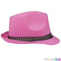 כובע ג'נטלמן ורוד