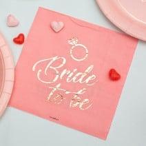 מפיות גדולות רווקות Pink Rose