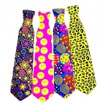 עניבות צבעוניות