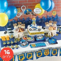 חבילה מורחבת מסיבת משטרה
