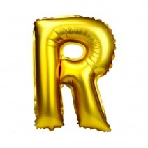 בלון מיילר זהוב לניפוח עצמי - R