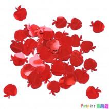 קונפטי תפוחים אדומים