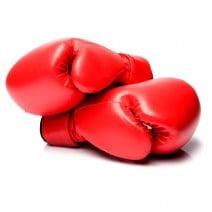 כפפות איגרוף אדומות