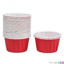 גביעי קאפקייקס אדומים