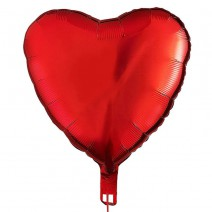 בלון מיילר לב אדום