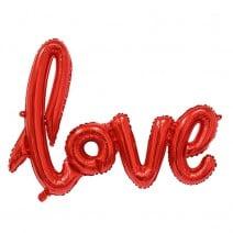 בלון מיילר love אדום