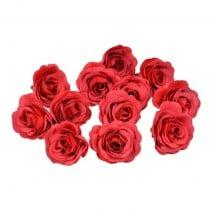 סט ורדי משי - אדום