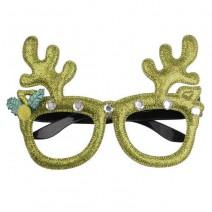 משקפיים לחג המולד - קרניים