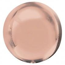 בלון בועה תלת מימדי - רוז גולד