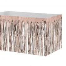 חצאית שולחן פרנזים רוז גולד