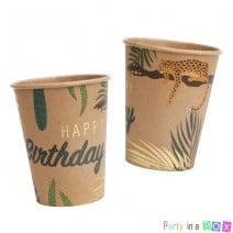 כוסות ספארי קראפט זהב