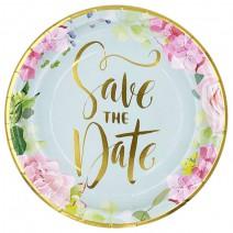 צלחות גדולות Save the Date