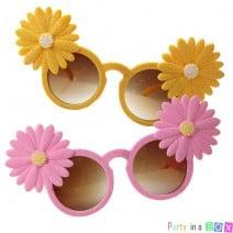 משקפי מסיבה פרחים