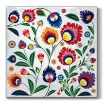 מפיות גדולות Flower Power