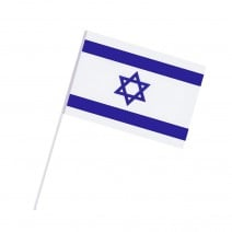 סט דגלי ישראל על מקל