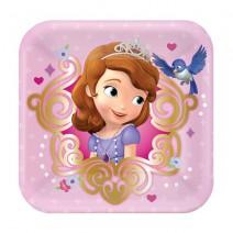 צלחות קטנות הנסיכה סופיה