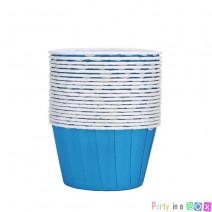 גביעי קאפקייקס כחול
