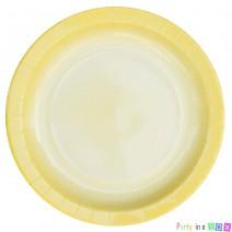 צלחות גדולות אומברה צהוב