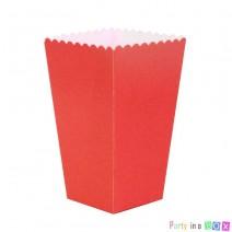 קופסאות פופקורן אדום