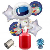 חבילת הליום אסטרונאוט בחלל