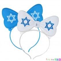 קשת מיקי זוהרת דגל ישראל