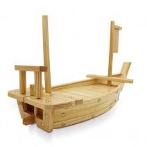 סירת עץ לסושי