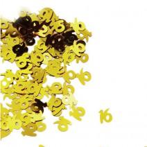 קונפטי זהב גיל 16