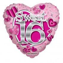 בלון מיילר לב Sweet 16