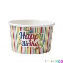 כוסות ממתקים Happy Birthday