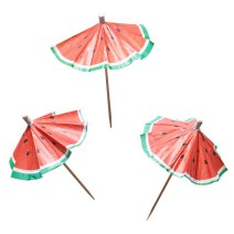 מטריות קוקטייל אבטיח
