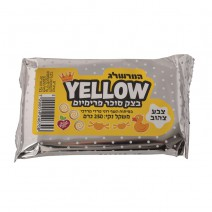 בצק סוכר טבעוני - צהוב