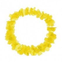 שרשראות הוואי צהוב זוהר