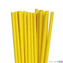קשיות נייר חלקות- צהוב