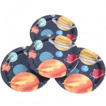צלחות גדולות חלל